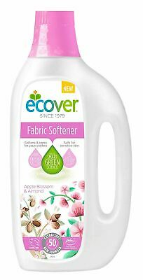 Ecover Fabric Softener - Apple Blossom & Almond [5Ltr] (8 Pack)