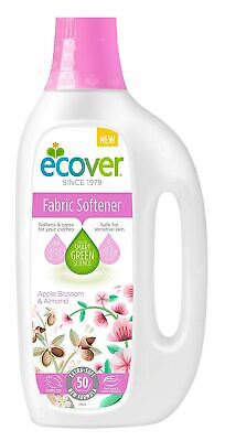 Ecover Fabric Softener - Apple Blossom & Almond [5Ltr] (7 Pack)