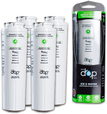 1/2/3/4Pack EveryDrop4 UKF8001 Maytag 4396395 Replacement Fridge Water Filter