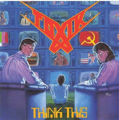 TOXIK - THINK THIS (1989) US Thrash Metal CD Jewel Case+FREE GIFT