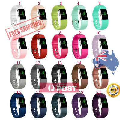 New Replacement Silicone Wrist Band for Fitbit Charge 2 / Charge HR 2 AU Seller