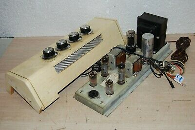 Vintage MOTOROLA STEREO 6BQ5 SINGLE ENDED TUBE AMPLIFIER WITH CONTROL