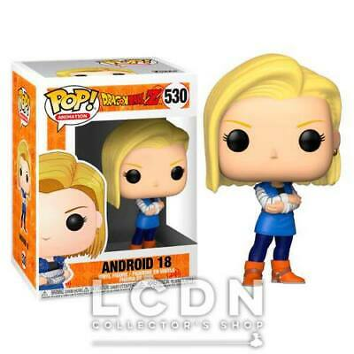 Dragon Ball Z POP! Animation Android 18 Vinyl Figure 10cm n°530 FUNKO