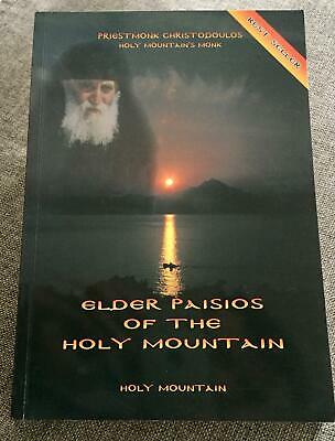 Orthodox Book Elder Paisios Of The Holy Mountain - Priestmonk Christodoulos