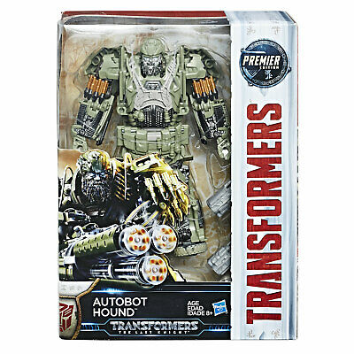 Transformers The Last Knight Premier Edition Voyager Class AUTOBOT HOUND Hasbro