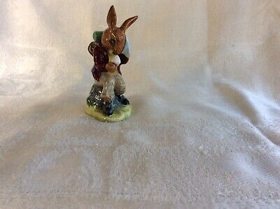 Royal Doulton -Billie Bunnykins, Cooling Off- Character Figure Model Db3