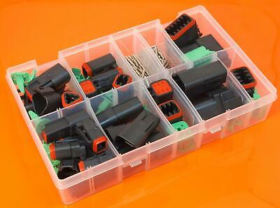 Genuine Deutsch DT Series Assorted Electrical Connector Box Set - 190 Pieces