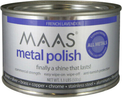MAAS 91404 Metal Polish Can, French Lavender Scent, 1.1 Lb