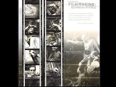 2003 - AMERICAN FILM MAKING - #3772  Mint -MNH- Sheet of 10 Postage Stamps