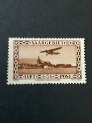 Germany - Saar- 1932 -- Air 5fr - Mint