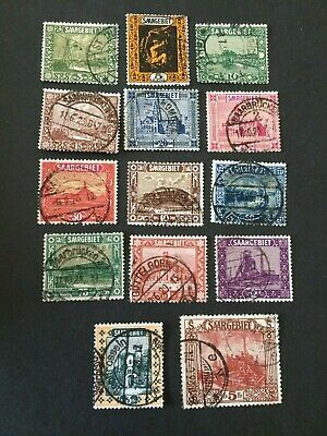 Germany - Saar- 1922 complete set - Used