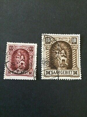 Germany - Saar- 1925 complete set - Used