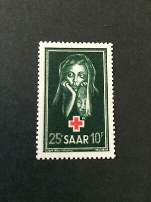 Germany - Saar- 1951 Red Cross Fund