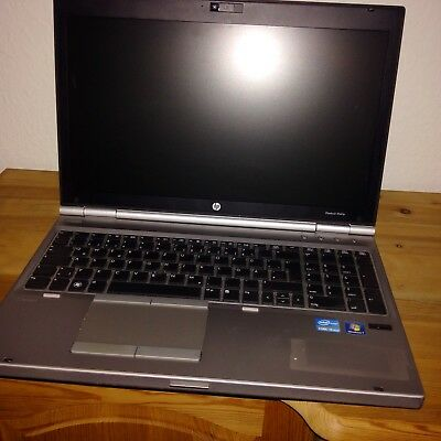 HP EliteBook 8560p 15,6 Zoll Notebook/Laptop i5 4 GB Webcam SSD Fingerprint