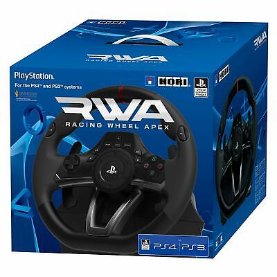 PS4 Steering Wheel and Pedals Genuine Licensed Sony PS4 RWA Apex-Touch Sense ®