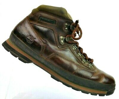 3106623b41a TIMBERLAND EURO HIKER Brown Oiled Leather Hiking Trail Boots 95100 Men's 13  M