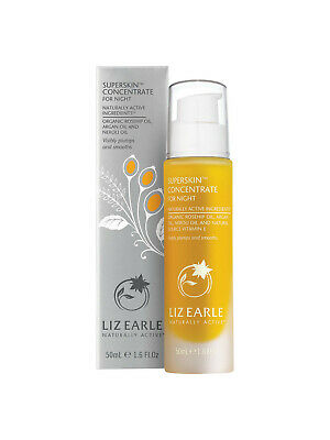 Liz Earle Superskin Concentrate for Night - Large Size 50ml Pump - Brand New