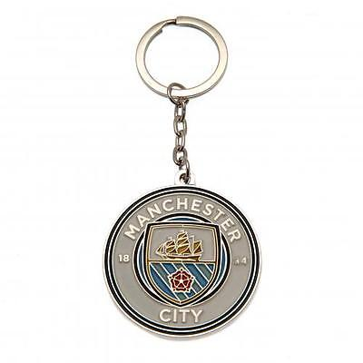 Manchester City F.C. Keyring Official Merchandise