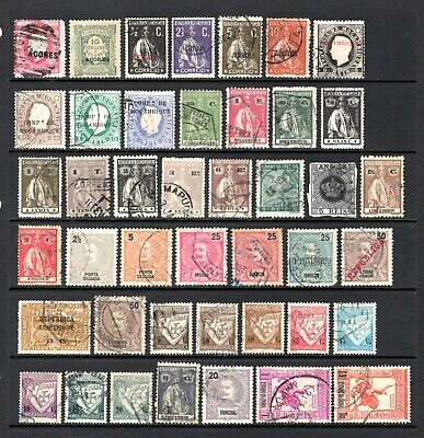 PORTUGAL & COLONIES EARLY TO MID PERIOD GOOD TO FINE USED x 43 STAMPS NOT CAT