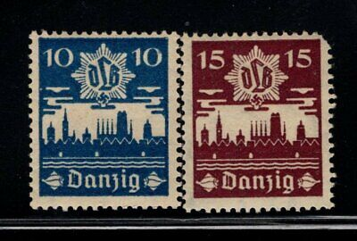 Item No. A6682 – Danzig – Scott # 219-220 – MNH