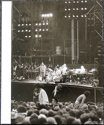 Pink Floyd Poster Page 1975 Knebworth Concert Waters Gilmour Mason Wright .r42