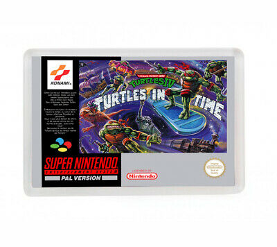 Teenage Turtles Iv Turtles In Time Super Nintendo Fridge Magnet Iman Nevera