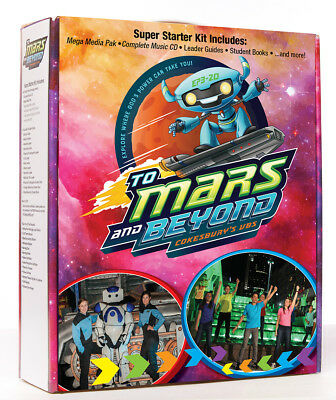 Vacation Bible School (VBS) 2019 To Mars and Beyond Super Starter Kit (New)