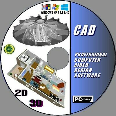 2019 2D/3D MODELING PROFESSIONAL CAD COMPUTER AIDED DESIGN USES AutoCAD DWG NEW