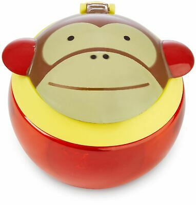 Skip Hop ZOO SNACK CUP - MONKEY Baby Feeding Cups Dishes Utensils BN
