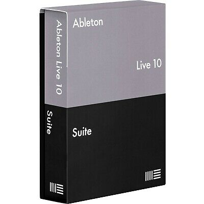 Ableton Live 10 Suite Music Editing Software - FULL VERSION - E-DELIVERY