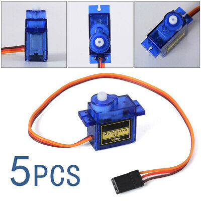5pcs 9G SG90 New Micro Servo Motor Robot Helicopter Airplane Controls TE147