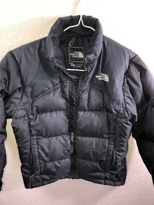 e3a171a31 THE NORTH FACE Kids Girls Small S 600 Down Puffer Jacket black