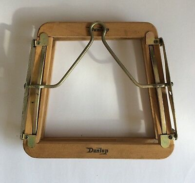 Vintage Dunlop Squash Racket Press Or Clamp