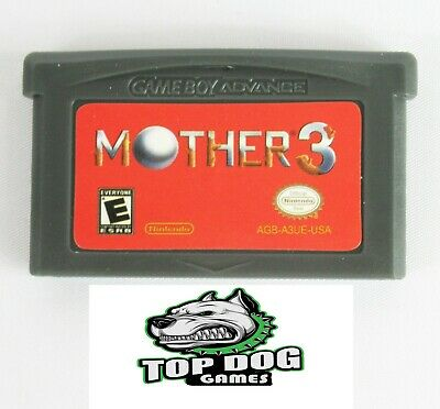 Mother 3 Earthbound 2 Game Boy Advance GBA