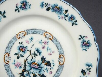 Limoges Fresh from France ROYAL CHAPUS Luncheon Plate Blue Rare