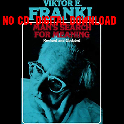 Mans Search for Meaning by Viktor E. Frankl [AUDIO]