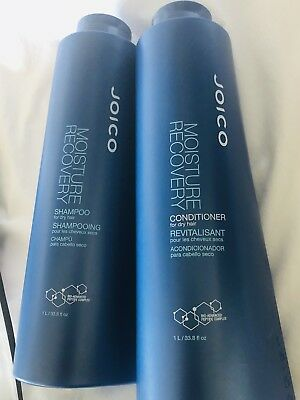 JOICO MOISTURE RECOVERY Shampoo and Conditioner Liter Set