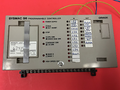 OMRON - Model: 3G2S6-CPU15 - Programmable Controller