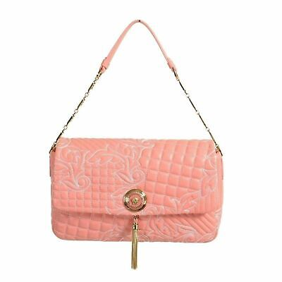 3cc826a4ddb7 GIANNI VERSACE LEATHER Pink Women s Handbag Shoulder Bag -  1