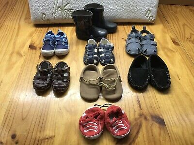 baby toddler shoes x 8 pairs