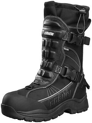 Castle X Barrier 2 Mens Snowmobile Boots Gray