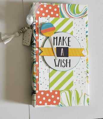 Handmade Mini flip Album - Birthday Boy  - would make a great gift!