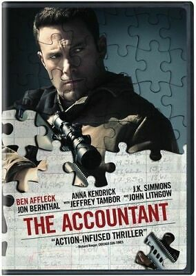 The Accountant (DVD, 2017)