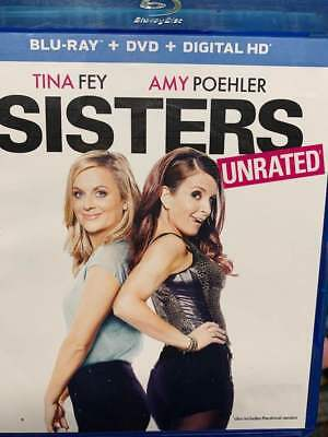 Sisters UNRATED Blu-Ray No DVD/Digital/Slip Like New FAST FREE Combine Shipping