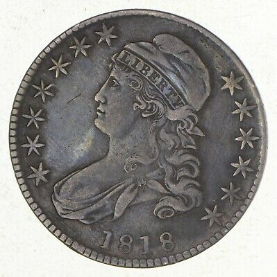 1818 Capped Bust Half Dollar *2558
