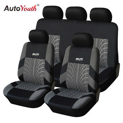 AUTOYOUTH 4PCS/9PCS Universal Car Seat Cover Car Seat Protector Fit Most Cars