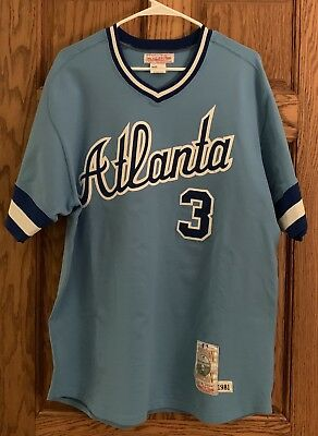 feb4a577d9f Dale Murphy Authentic 1981 Atlanta Braves Mitchell   Ness Jersey Size Large