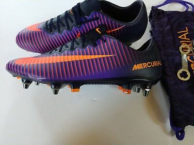 7e2efe6db Nike Men Mercurial Vapor XI SG-Pro Purple Soccer Cleats 831941-586 11.5 New