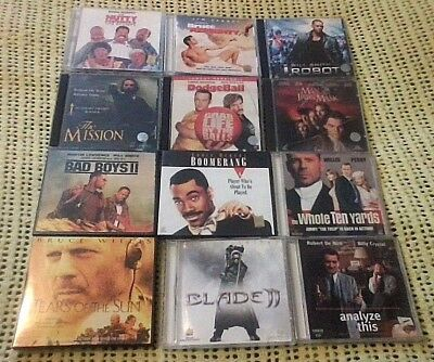 BULK LOT MOVIES VIDEO CD's 12 X VCD's VARIOUS MOVIE TITLES VIDEO CD's EXCELLENT