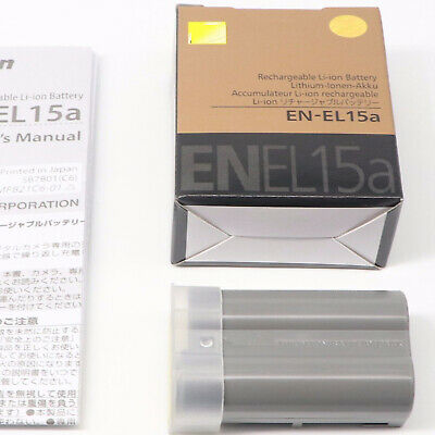 EN-EL15A Battery For Nikon D7100 D750 D610 D7500 D7200 D800 D810 D850 D7000 MH25